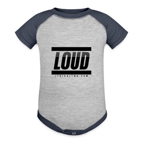 LOUD - Baseball Baby Bodysuit