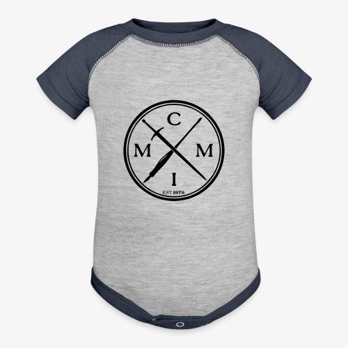 pen x sword - Baseball Baby Bodysuit