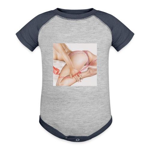 On da phone - Contrast Baby Bodysuit