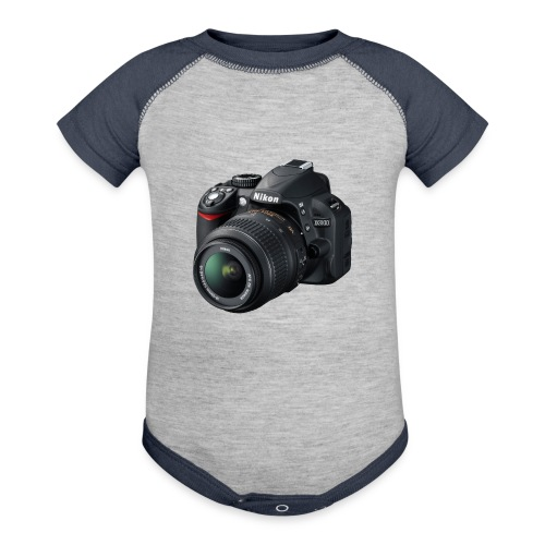 photographer - Baseball Baby Bodysuit