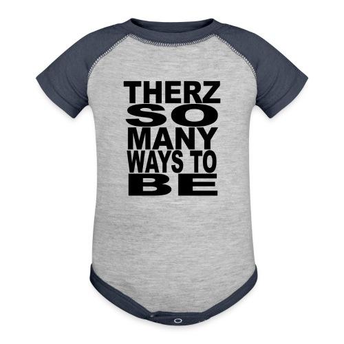 Therz Tshirt png - Baseball Baby Bodysuit