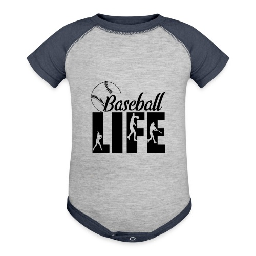 Baseball life - Baseball Baby Bodysuit