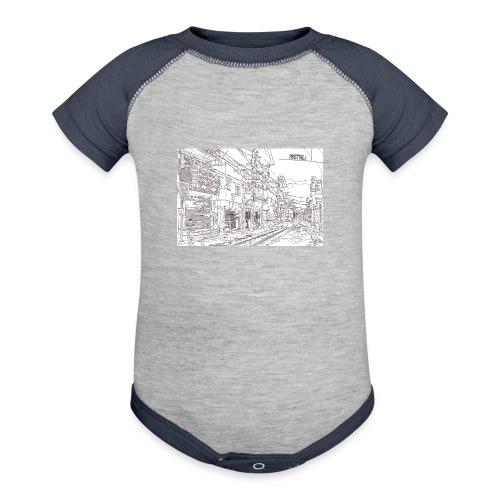 StreetLines - Contrast Baby Bodysuit
