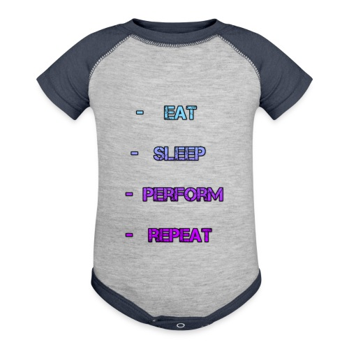 littlelaurzs productions T-shirt - Baseball Baby Bodysuit