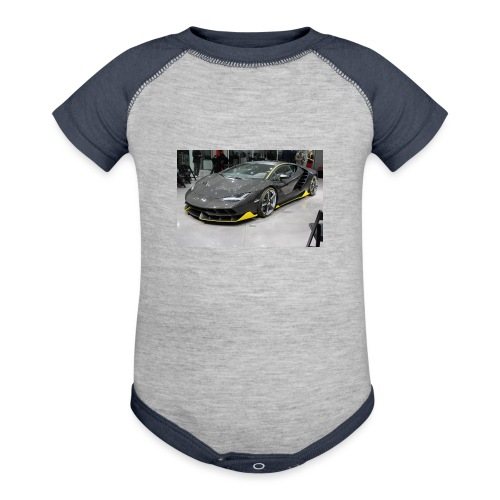 lambo shirt limeted - Baseball Baby Bodysuit