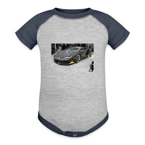 Lamborghini Centenario front three quarter e146585 - Baseball Baby Bodysuit