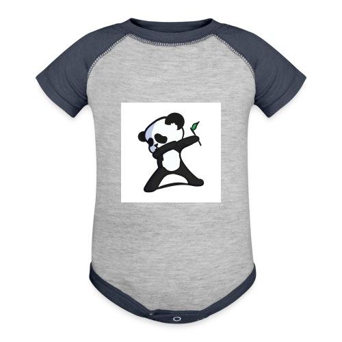 Panda DaB - Baseball Baby Bodysuit