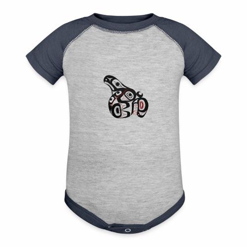 Killer Whale - Baseball Baby Bodysuit