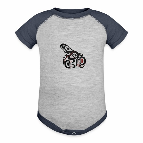 Killer Whale - Contrast Baby Bodysuit