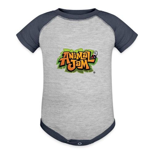 Animal Jam Shirt - Contrast Baby Bodysuit