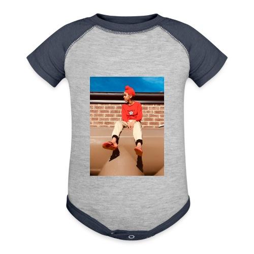 Flamin_Danger - Baseball Baby Bodysuit