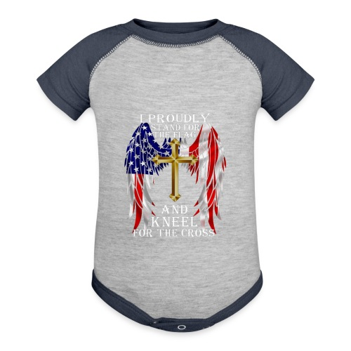 HONOR VETERAN DAYT SHIRTS - Baby Contrast One Piece