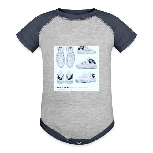 04EB9DA8 A61B 460B 8B95 9883E23C654F - Contrast Baby Bodysuit