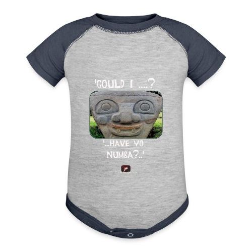 Alien Could I have your Number - Baseball Baby Bodysuit
