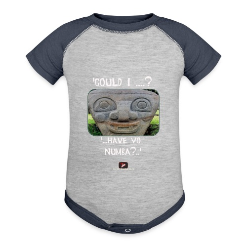 Alien Could I have your Number - Contrast Baby Bodysuit