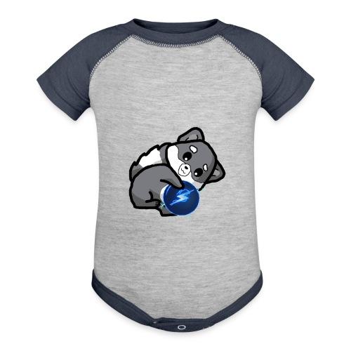 Eluketric's Zapp - Contrast Baby Bodysuit