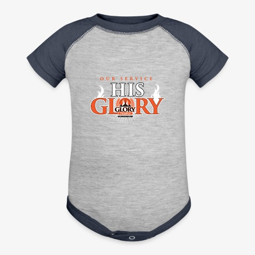 Glory Temple Baby Shirt - Baby Contrast One Piece