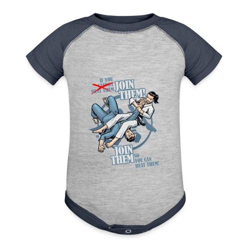 Judo shirt - Jiu Jitsu shirt - Join Them - Baseball Baby Bodysuit