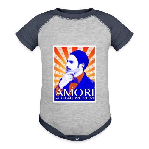 Amori_poster_1d - Contrast Baby Bodysuit