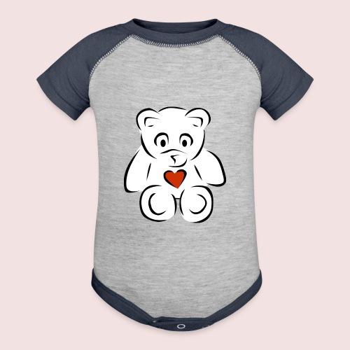 Sweethear - Contrast Baby Bodysuit