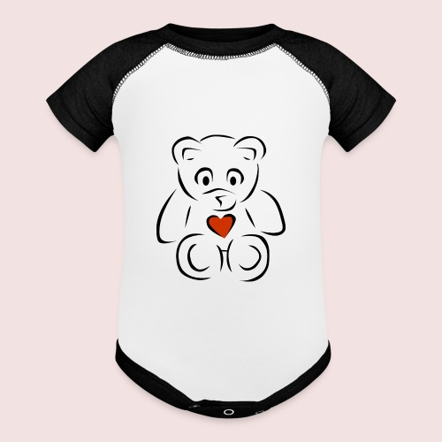 Sweethear - Baseball Baby Bodysuit