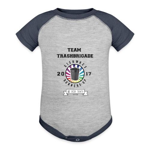 TrashBrigade 2017 - Contrast Baby Bodysuit