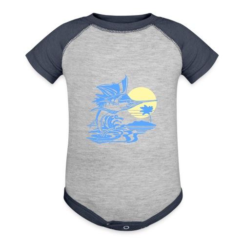 Sailfish - Contrast Baby Bodysuit