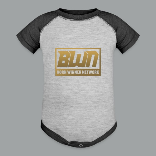 BWN (Gold) - Contrast Baby Bodysuit