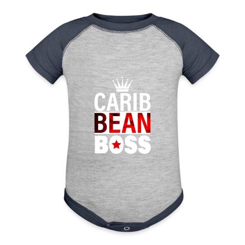 Caribbean Boss - Contrast Baby Bodysuit