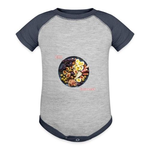 Croatian Gourmet - Contrast Baby Bodysuit
