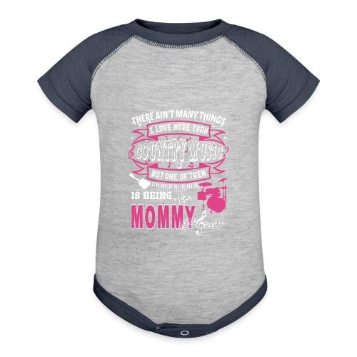 Happy Mother's Day - Baseball Baby Bodysuit