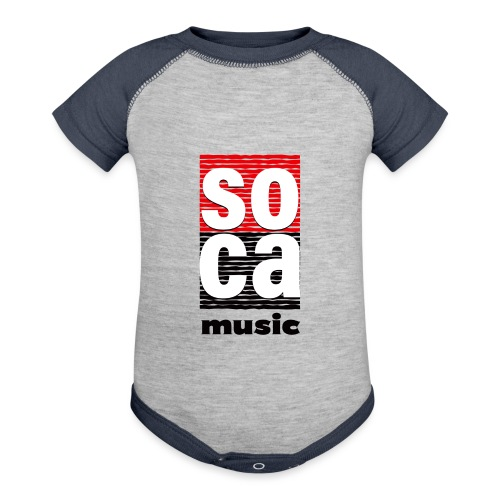 Soca music - Baseball Baby Bodysuit