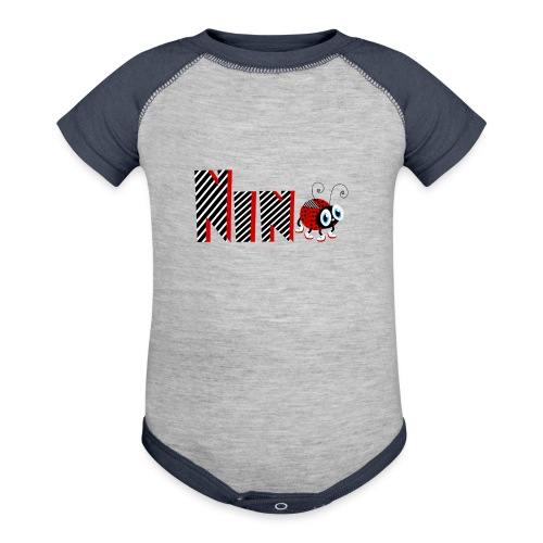 9nd Year Family Ladybug T-Shirts Gifts Daughter - Baseball Baby Bodysuit