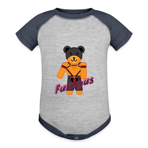 Leather Furrrgus - Baseball Baby Bodysuit