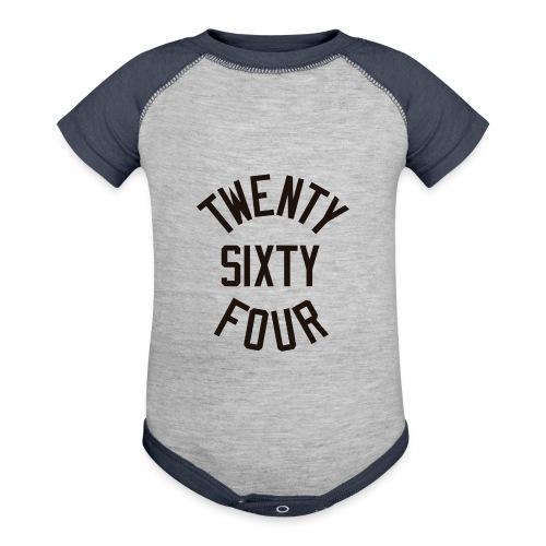 Twenty Sixty Four - Contrast Baby Bodysuit