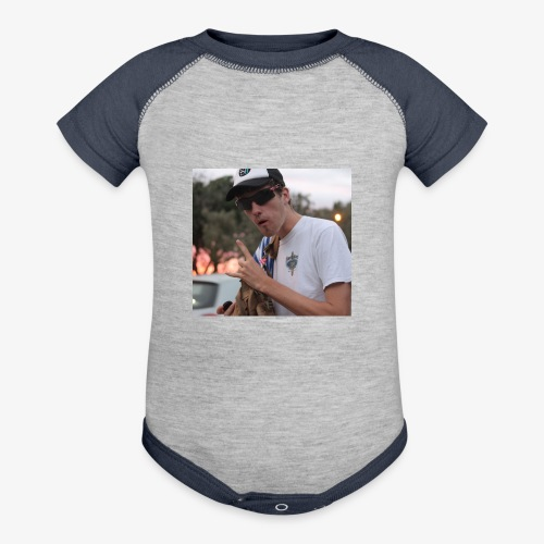 big man - Baseball Baby Bodysuit