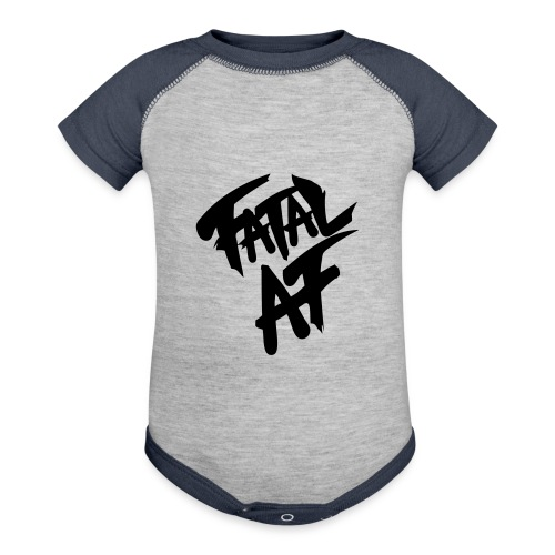 fatalaf - Baseball Baby Bodysuit