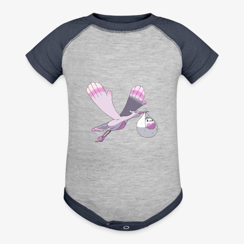 Baby's shirt - Contrast Baby Bodysuit