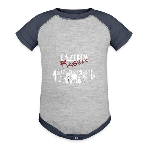 Phoenix Front - Baseball Baby Bodysuit