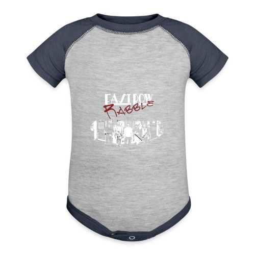 Phoenix Front - Contrast Baby Bodysuit