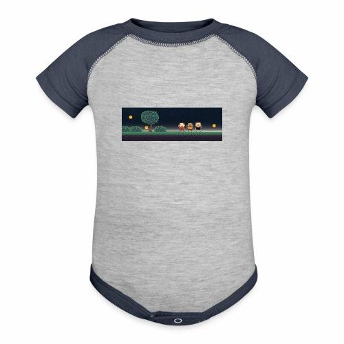 Twitter Header 01 - Contrast Baby Bodysuit