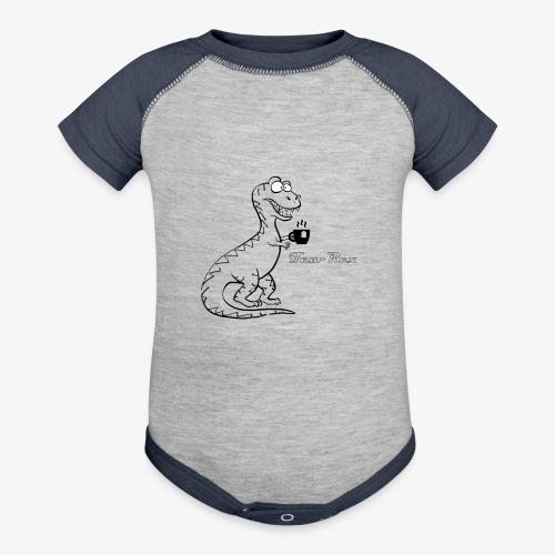 TEA-REX - Baseball Baby Bodysuit
