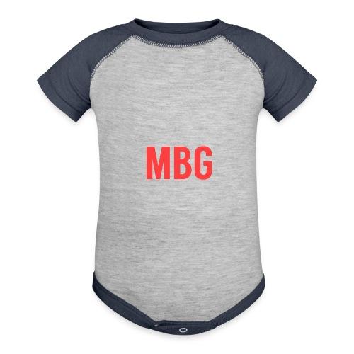 Fire case - Contrast Baby Bodysuit