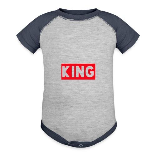 KingDefineShop - Contrast Baby Bodysuit