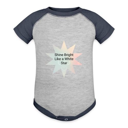 Photo 1514476838633 - Contrast Baby Bodysuit