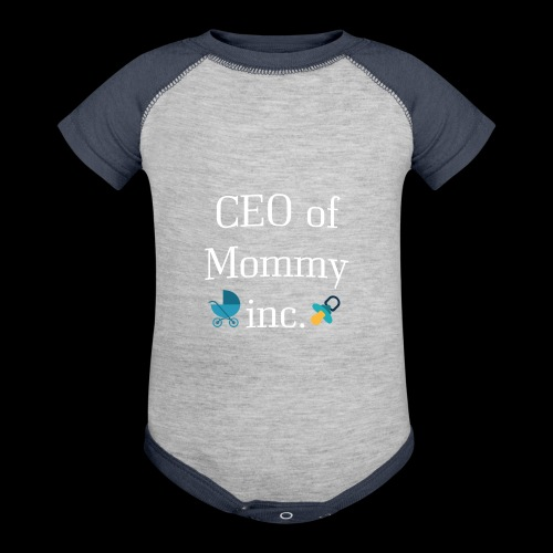 CEO of Mommy inc. - Contrast Baby Bodysuit