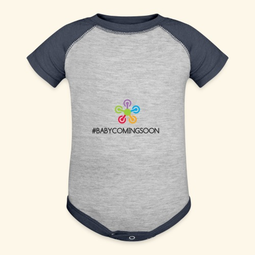 Baby coming soon - Contrast Baby Bodysuit