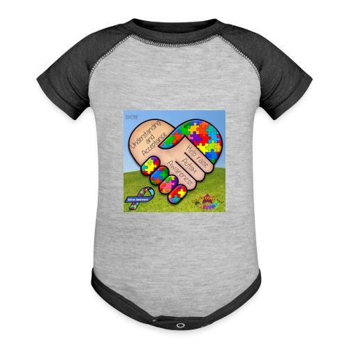 autpro1 - Contrast Baby Bodysuit