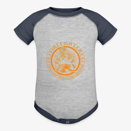Fire Fighter - Contrast Baby Bodysuit