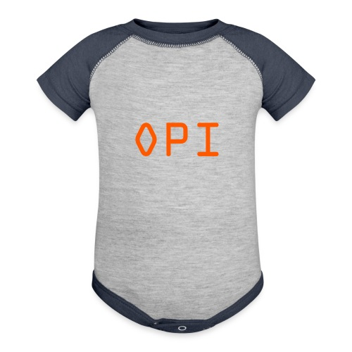 OPI Shirt - Baseball Baby Bodysuit